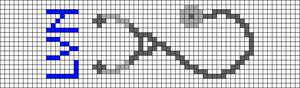 Alpha pattern #48798