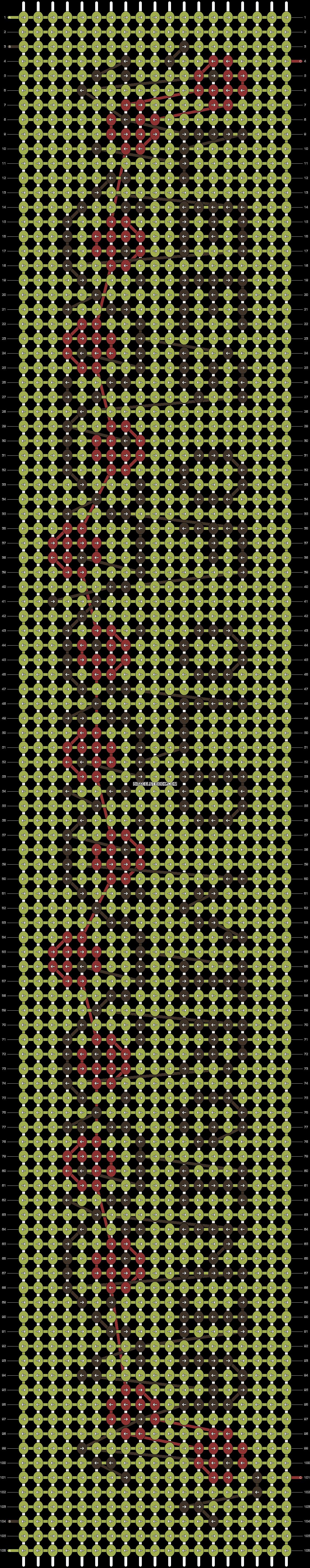 Alpha pattern #48803 pattern