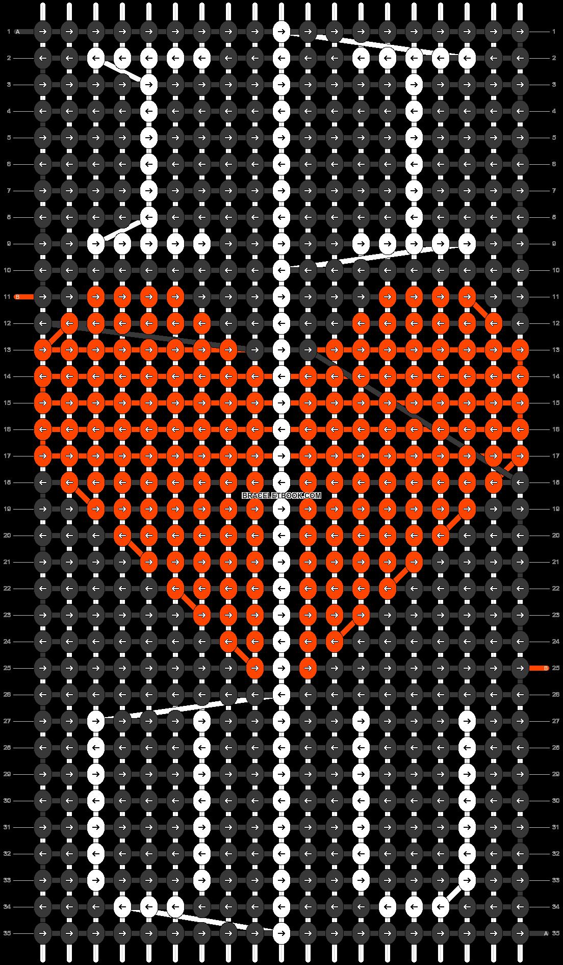 Alpha pattern #48869 pattern