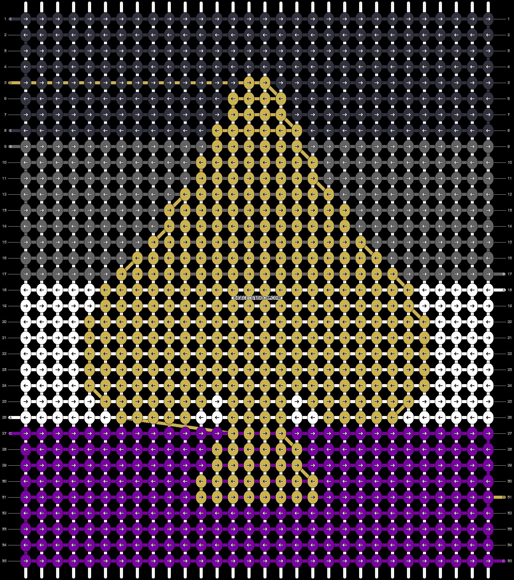 Alpha pattern #48870 pattern