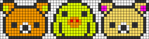 Alpha pattern #48890