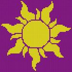 Alpha pattern #48891
