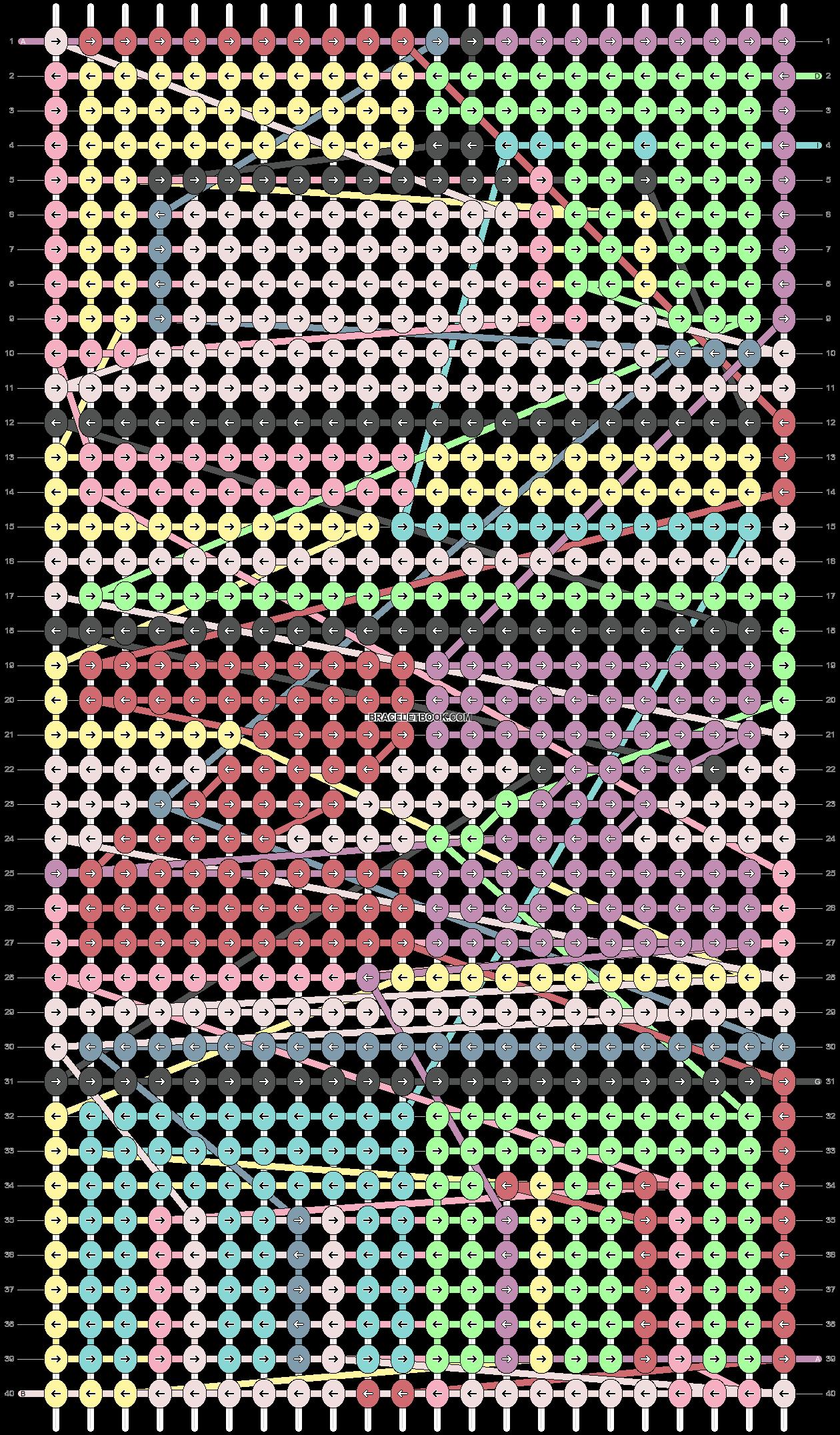 Alpha pattern #48893 pattern