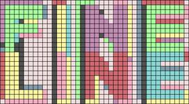 Alpha pattern #48893