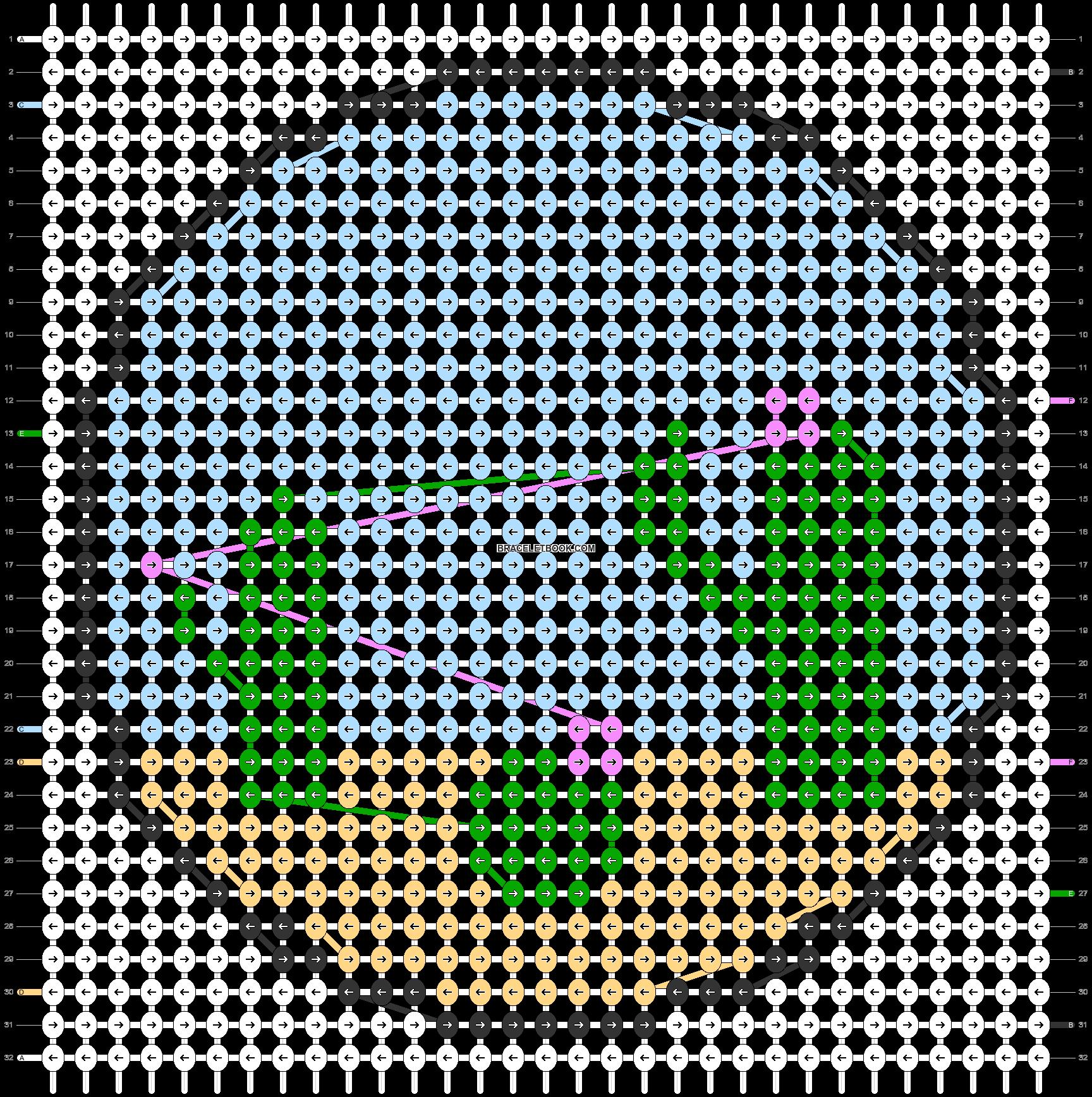 Alpha pattern #48913 pattern