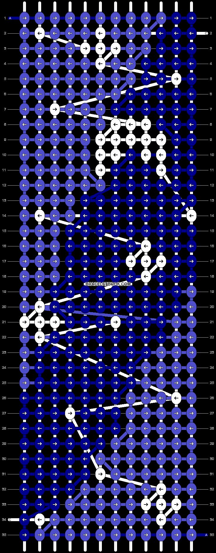 Alpha pattern #48935 pattern