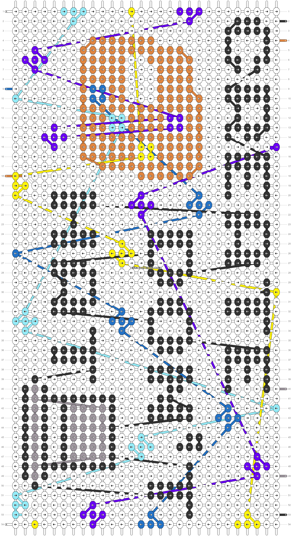Alpha pattern #48944 pattern