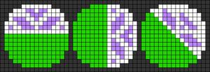 Alpha pattern #48972