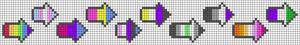 Alpha pattern #49060