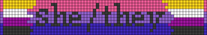 Alpha pattern #49069