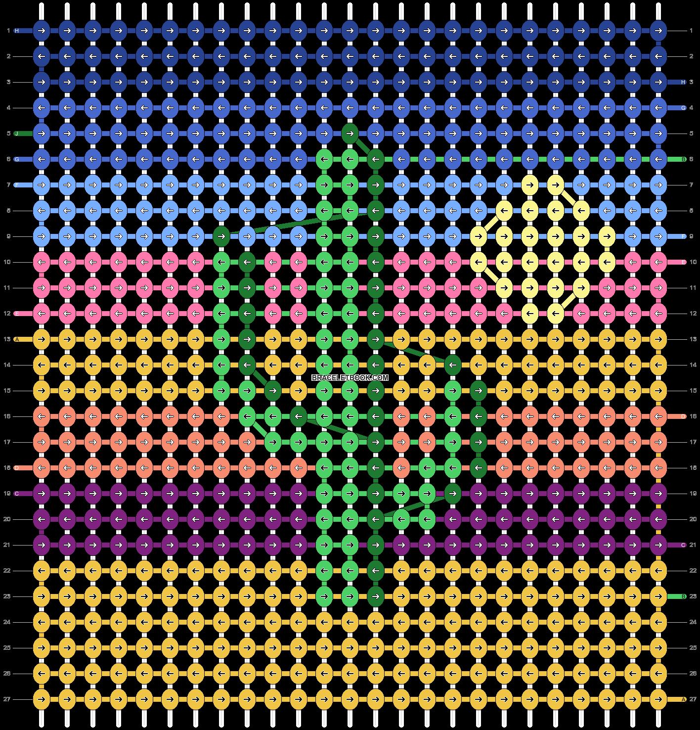 Alpha pattern #49084 pattern