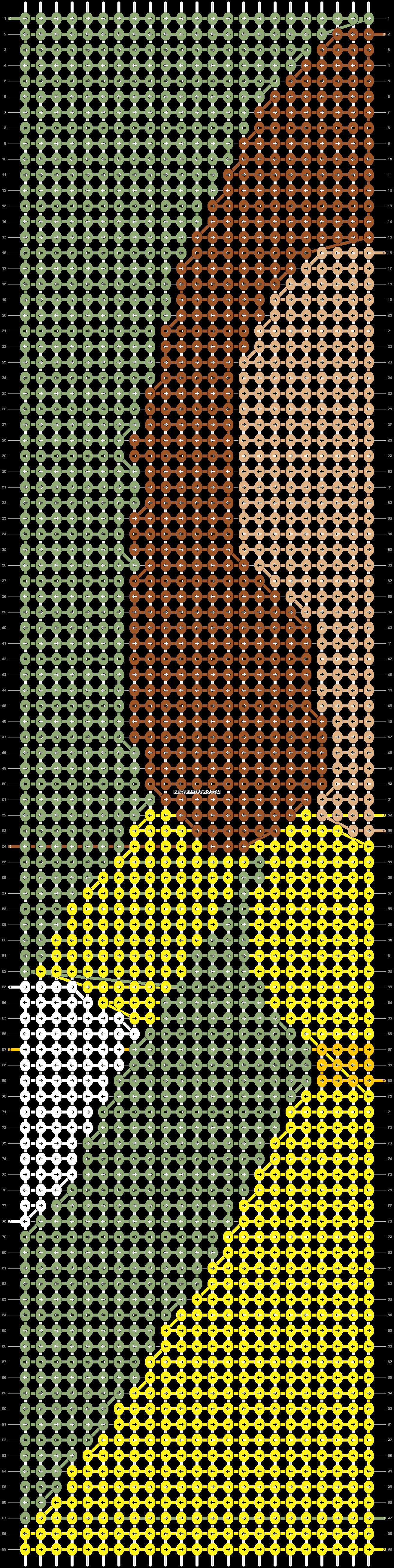 Alpha pattern #49098 pattern