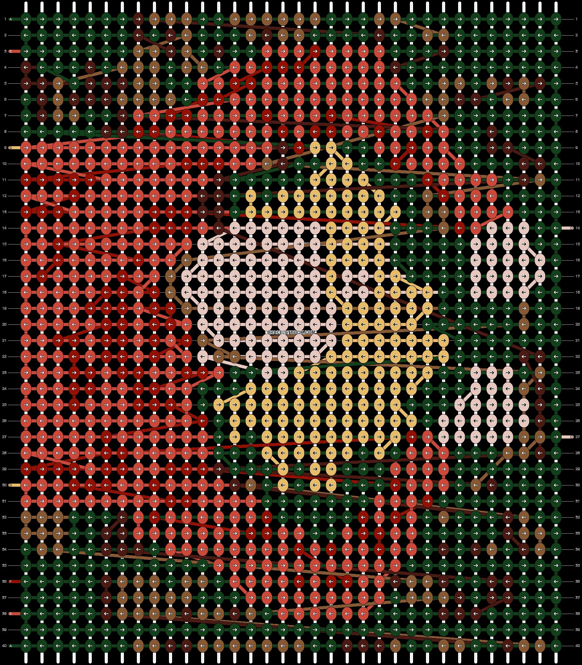 Alpha pattern #49102 pattern