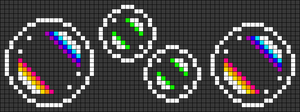 Alpha pattern #49106