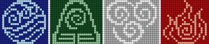 Alpha pattern #49110