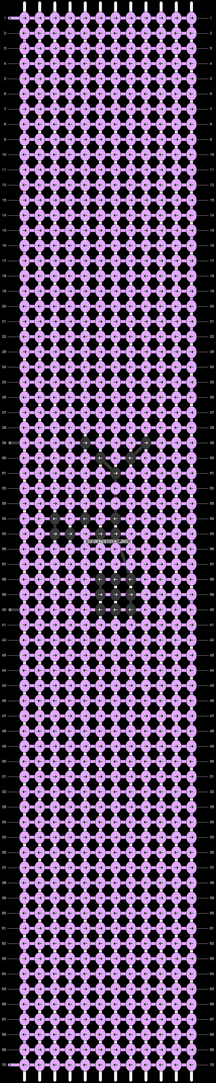 Alpha pattern #49164 pattern