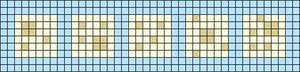 Alpha pattern #49177