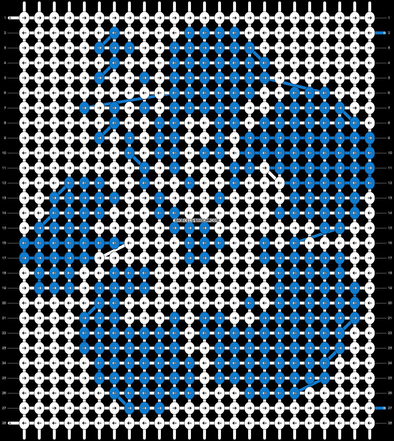Alpha pattern #49179 pattern