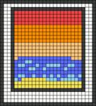 Alpha pattern #49180