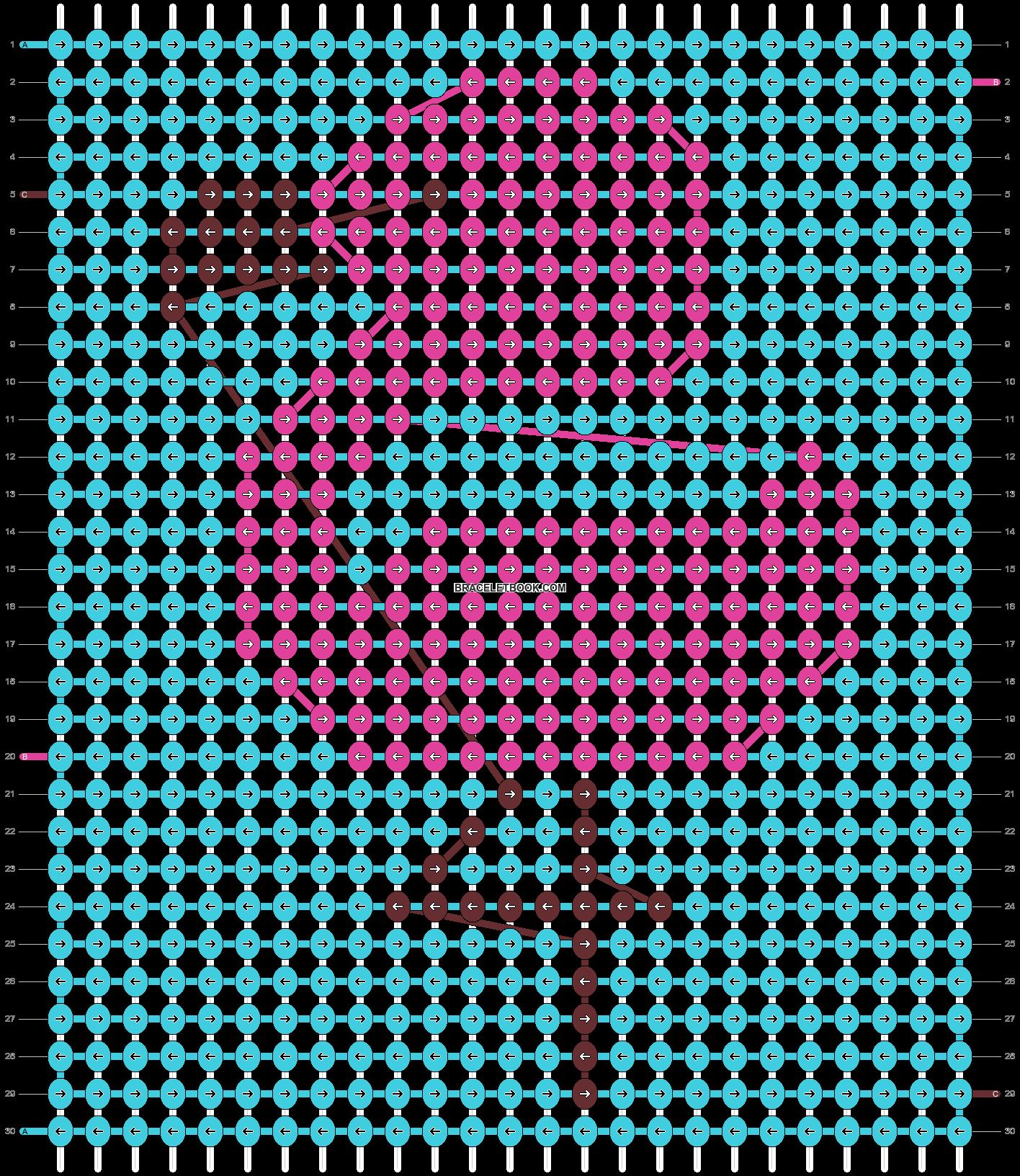 Alpha pattern #49182 pattern