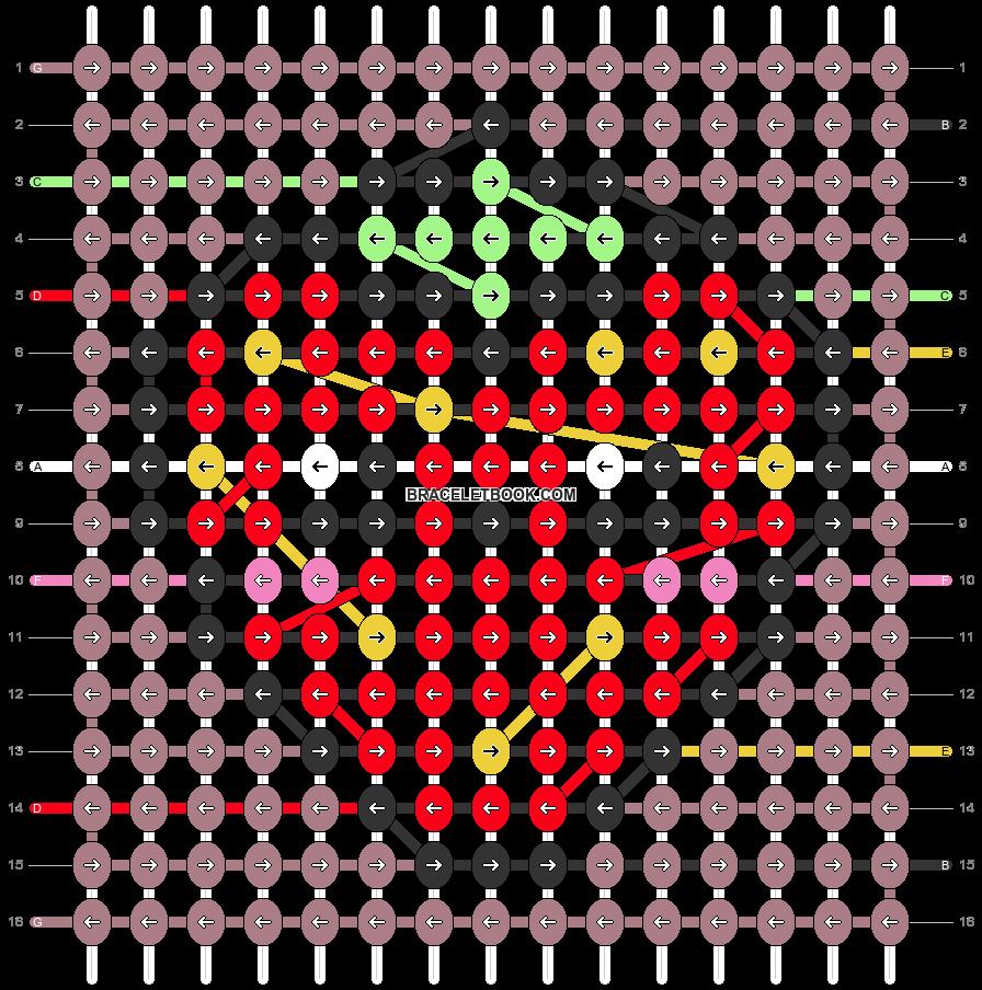 Alpha pattern #49187 pattern