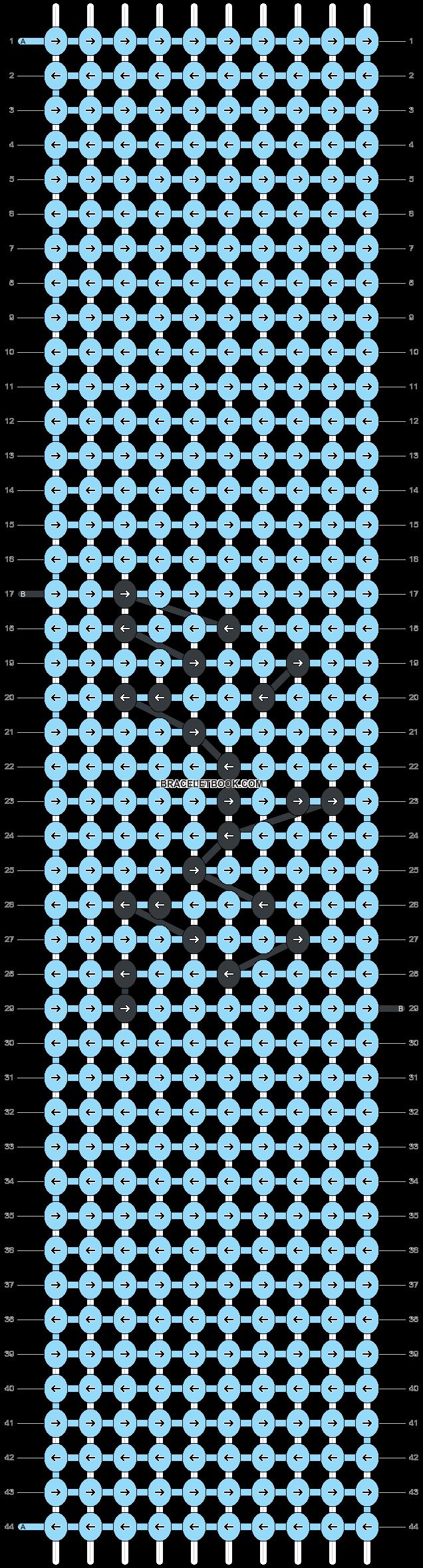 Alpha pattern #49189 pattern