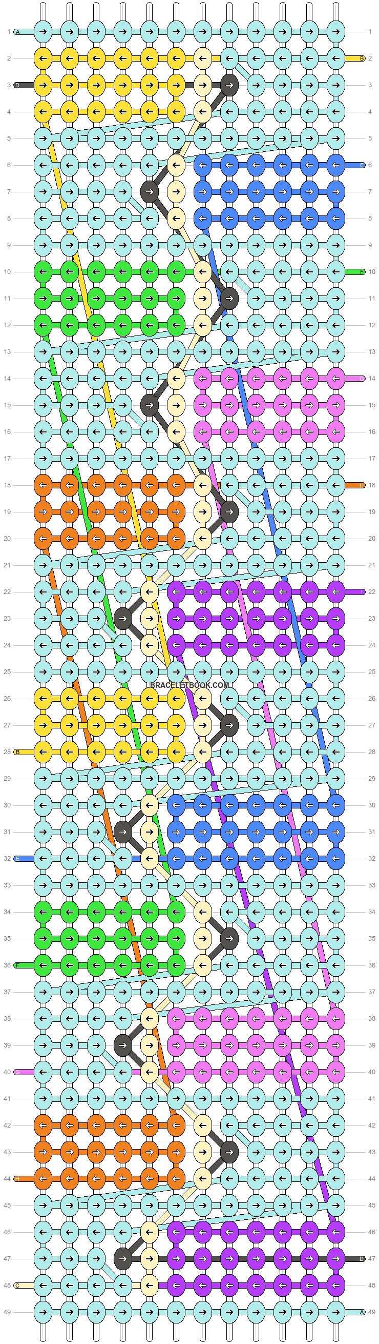 Alpha pattern #49198 pattern