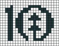 Alpha pattern #49202