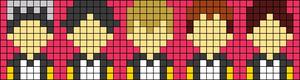 Alpha pattern #49207
