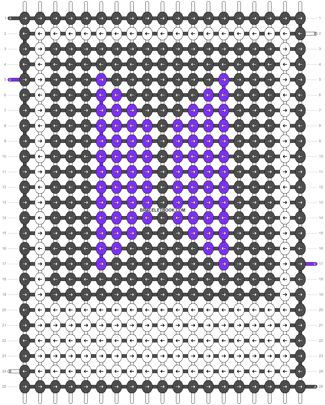 Alpha pattern #49208 pattern