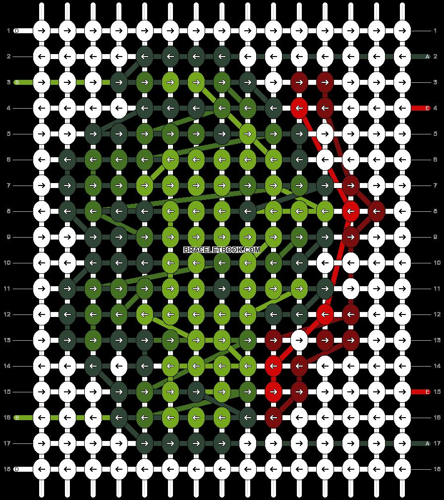 Alpha pattern #49213 pattern