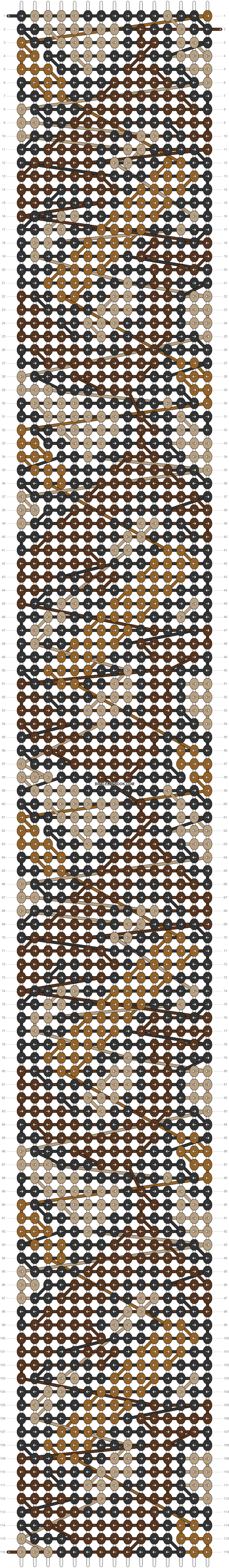 Alpha pattern #49256 pattern