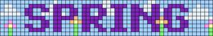Alpha pattern #49302