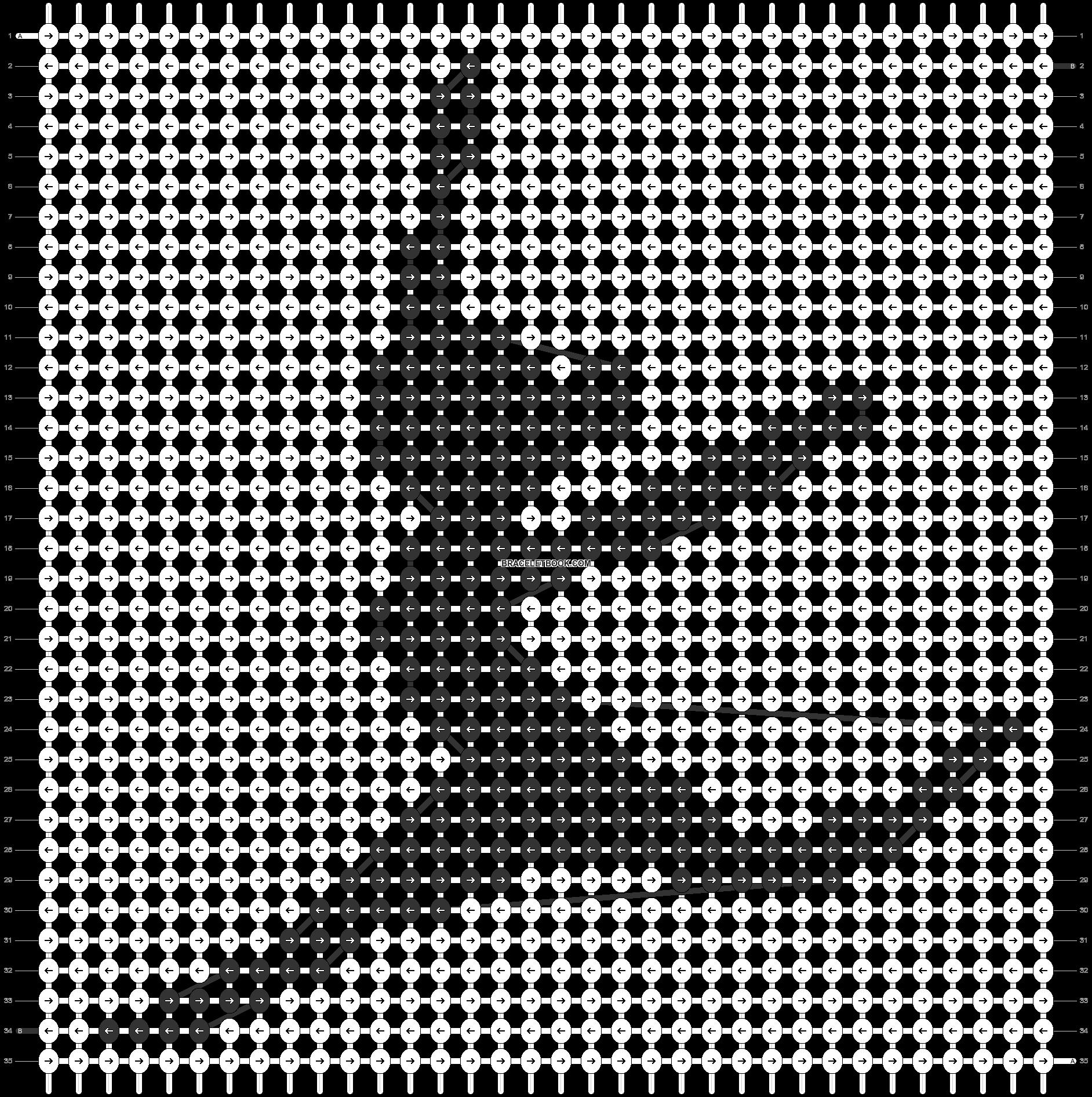 Alpha pattern #49313 pattern