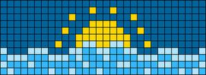 Alpha pattern #49317