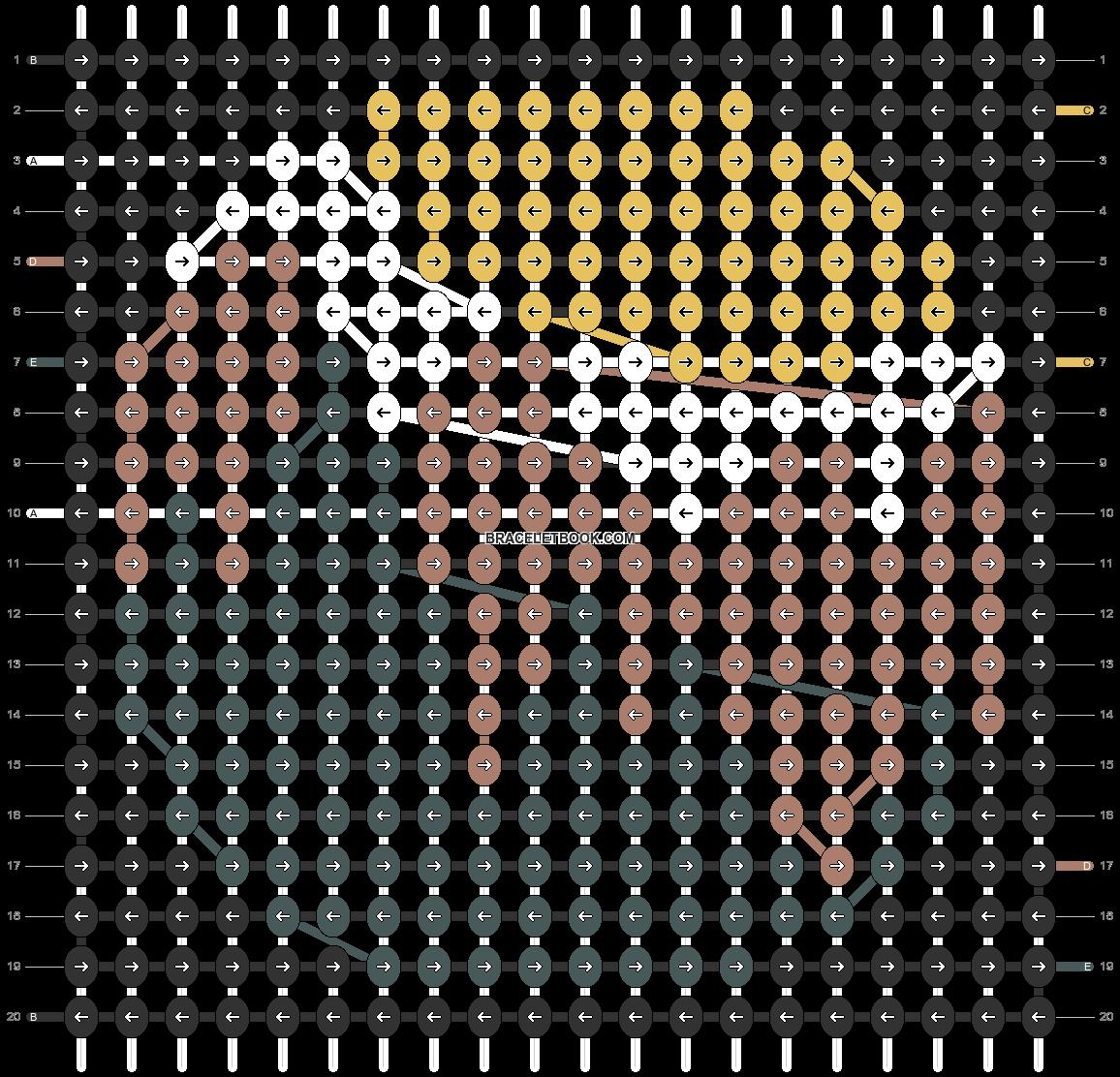 Alpha pattern #49332 pattern
