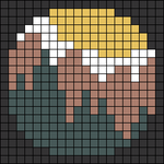 Alpha pattern #49332