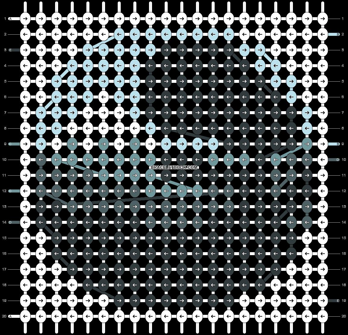 Alpha pattern #49336 pattern