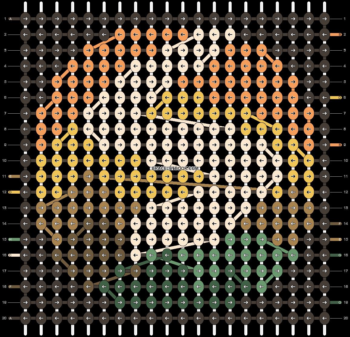 Alpha pattern #49337 pattern