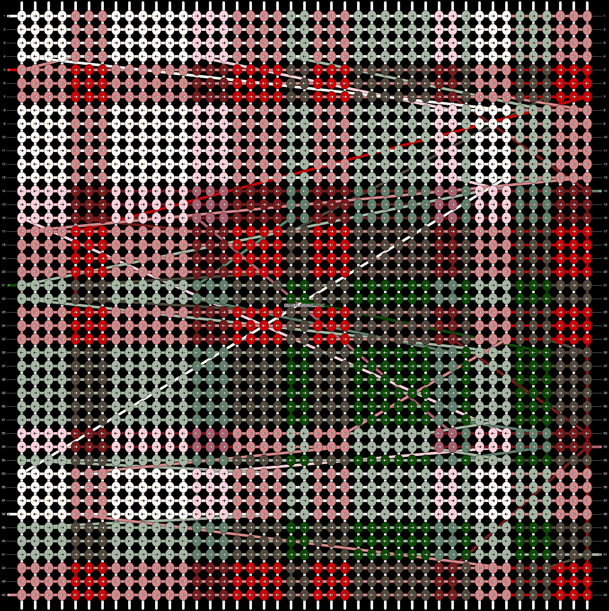Alpha pattern #49343 pattern