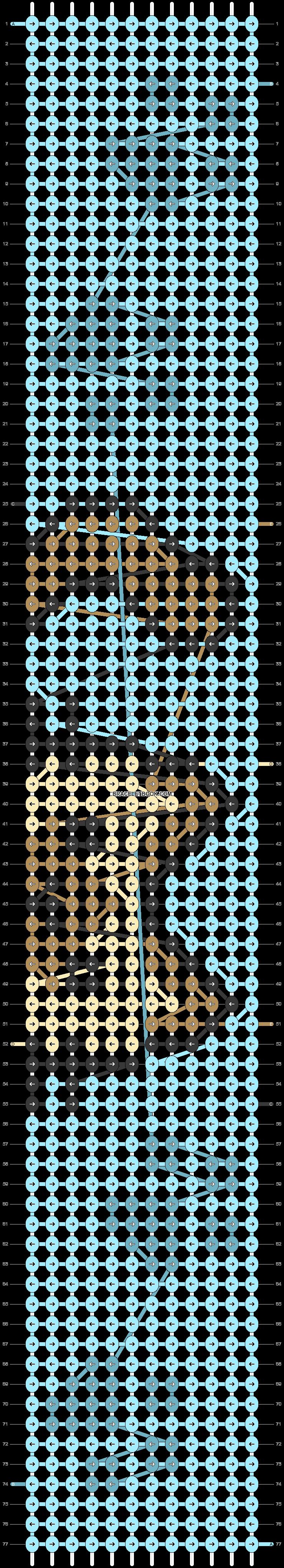Alpha pattern #49361 pattern
