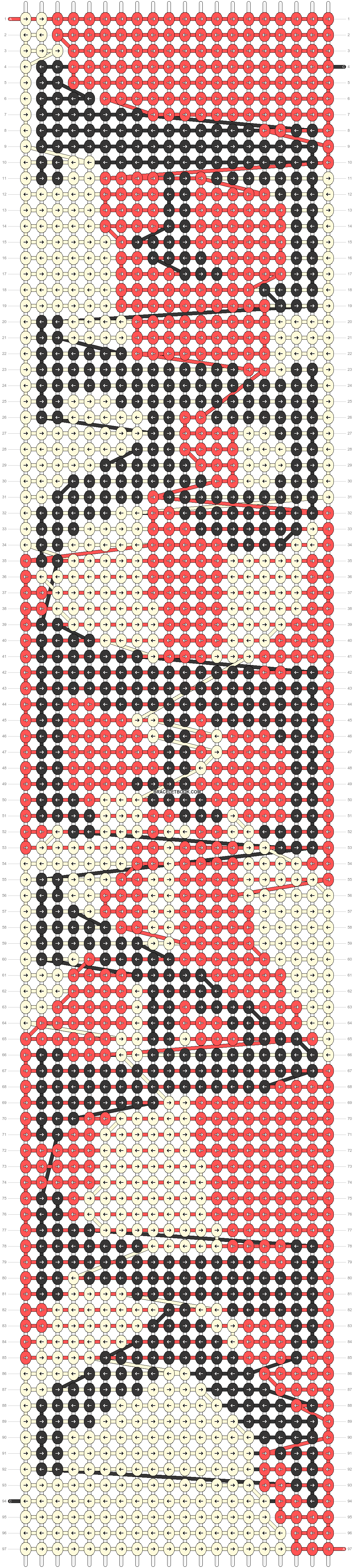 Alpha pattern #49378 pattern