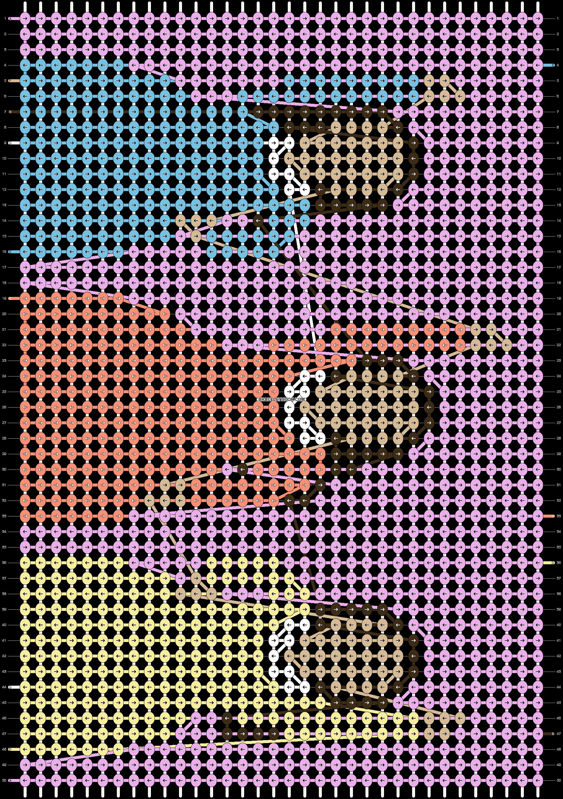 Alpha pattern #49387 pattern