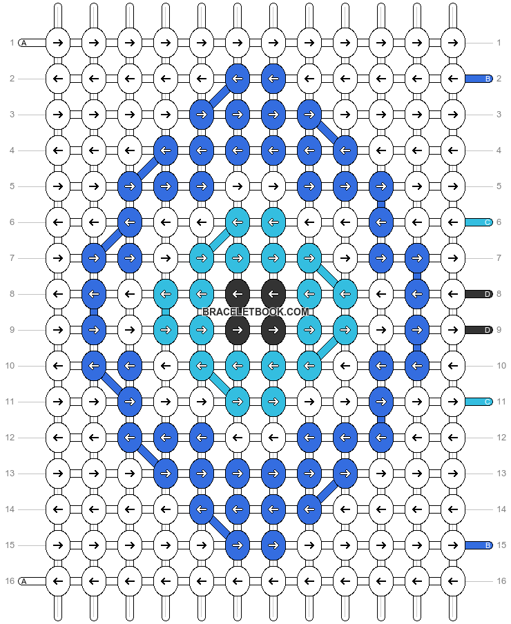 Alpha pattern #49390 pattern