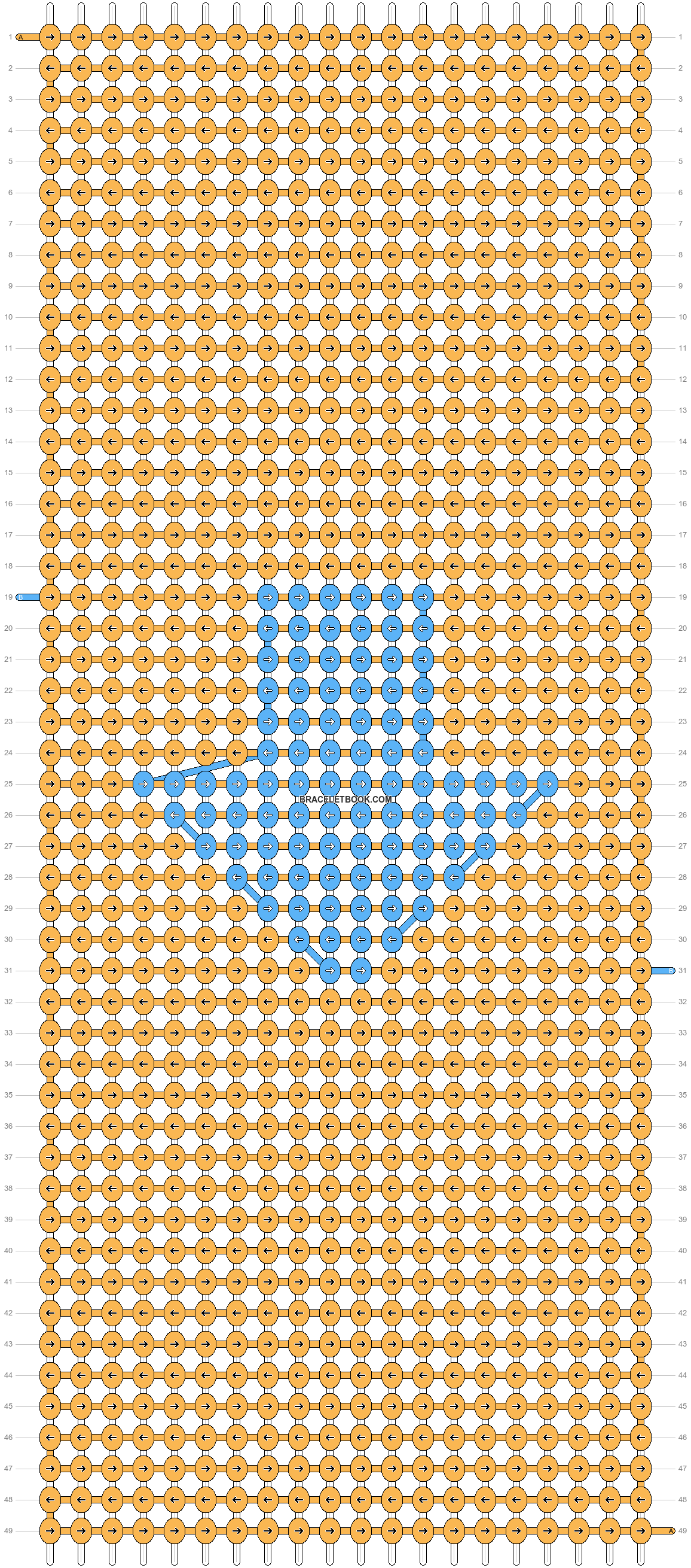 Alpha pattern #49420 pattern