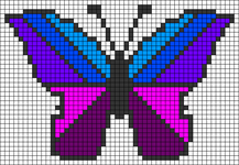 Alpha pattern #49422