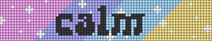 Alpha pattern #49425