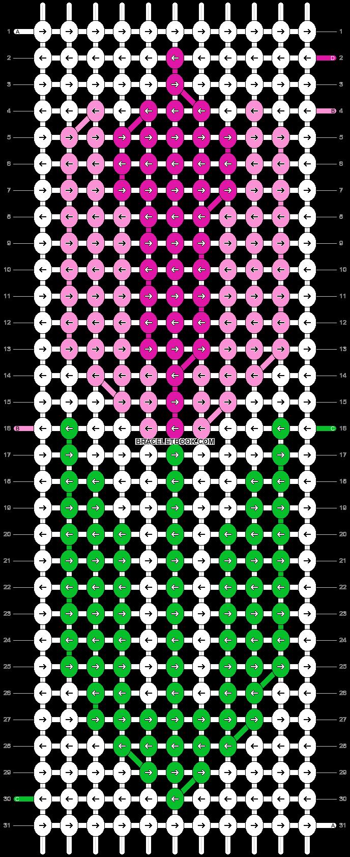 Alpha pattern #49430 pattern