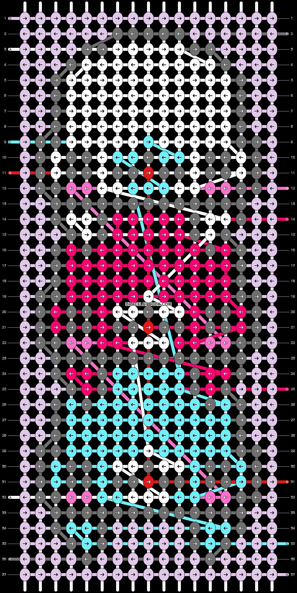 Alpha pattern #49431 pattern