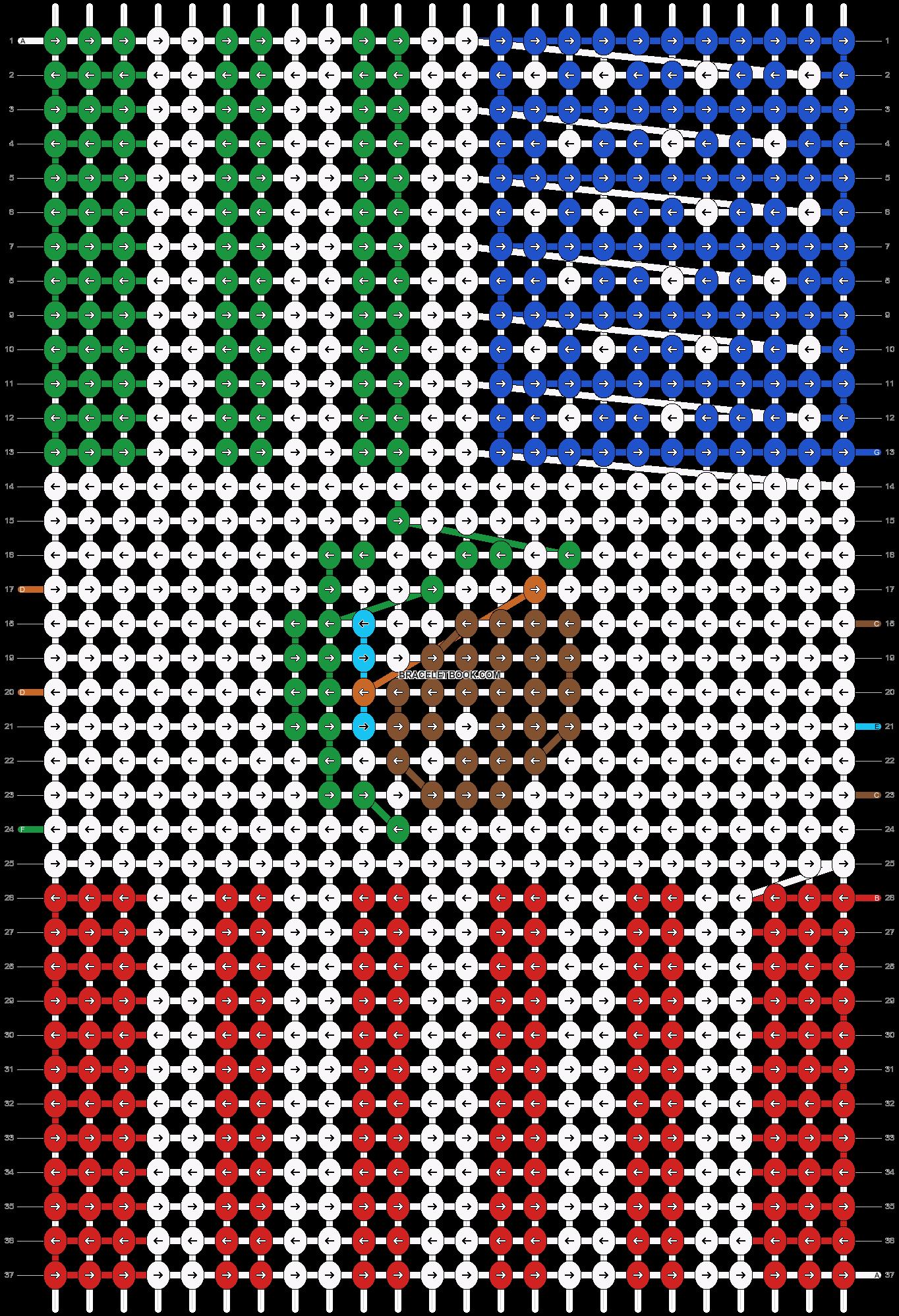 Alpha pattern #49448 pattern